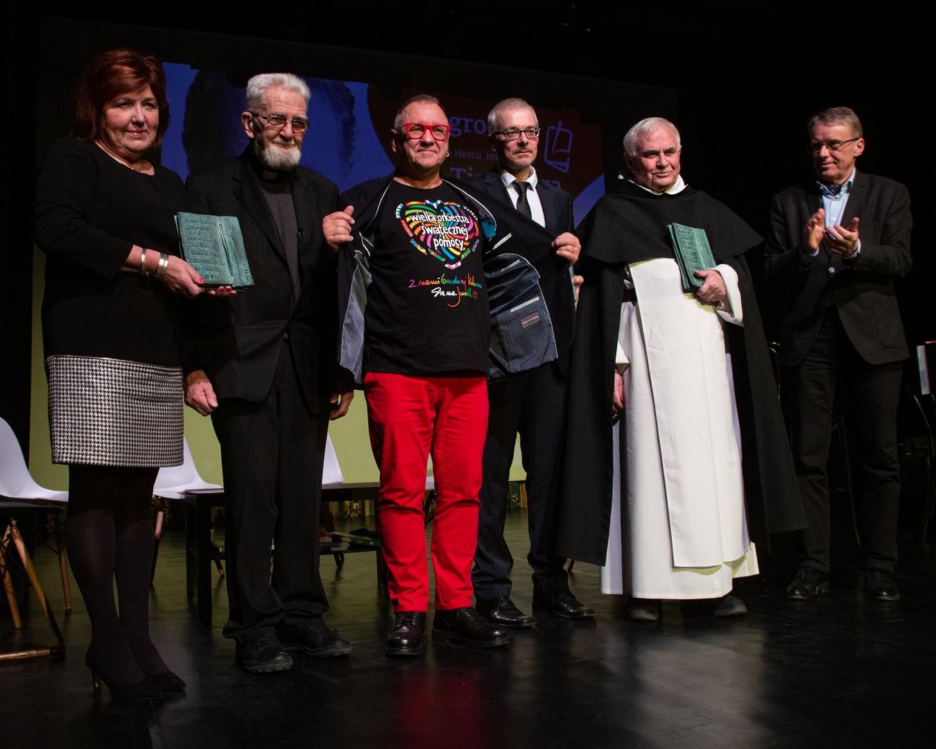 Gala wręczenia Nagrody Znaku i Hestii im. ks. Józefa Tischnera