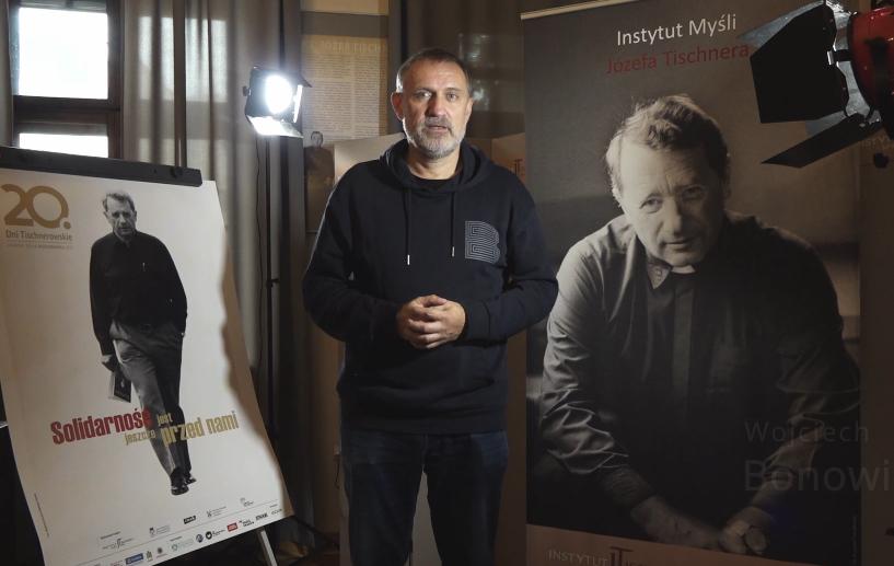 Wojciech Bonowicz przybliża myśl główną 20 jubileuszowych Dni Tischnerowskich